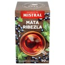 Mistral Peppermint Blackcurrant Herbal-Fruit Tea 20 x 1.5 g