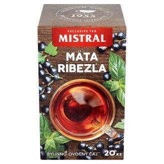 Mistral Mäta ríbezľa bylinno-ovocný čaj 20 x 1,5 g