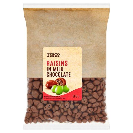 Tesco Hrozienka v mliečnej čokoláde 500 g