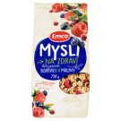 Emco Mysli na Zdraví Crunchy Muesli Blueberries and Raspberries 750 g