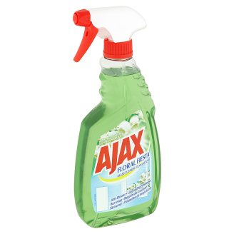 Ajax Floral Fiesta Spring Flowers Glass Cleaner 500 ml
