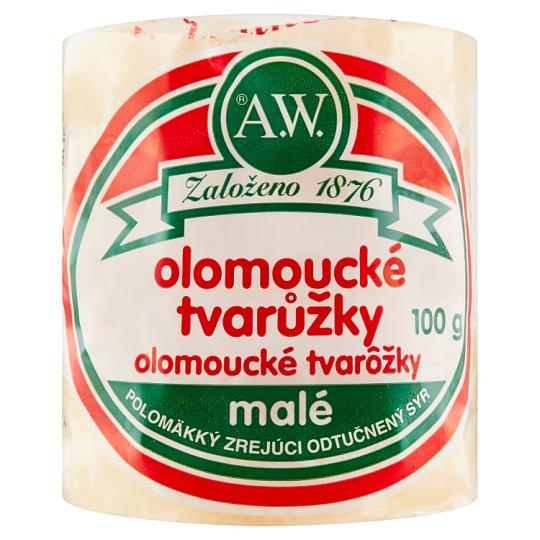 A.W. Olomouc Cheese Chunks Small 100 g