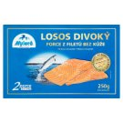 Mylord Wild Salmon Portions Skinless without Skin Deep Frozen 2 x 125 g