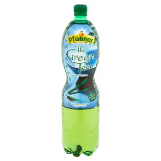 Pfanner Green Tea Drink with Taste of Lemon-Prickly Pear 1.5 L
