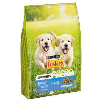 Friskies for Puppies Junior with Chicken, Added Milk and Vegetables 500 g