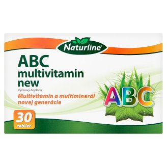 Naturline ABC Multivitamin New Dietary Supplement 30 Tablets 40.2 g