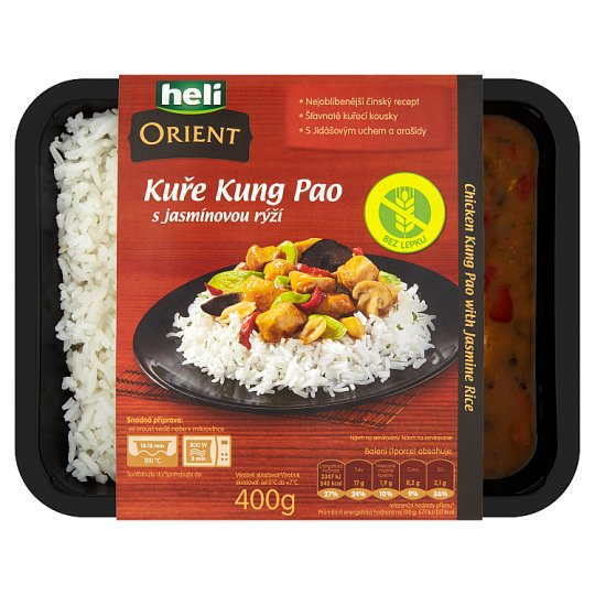 Heli Orient Chicken Kung Pao with Jasmine Rice 400 g