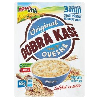 Bona Vita Dobrá kaše Original ovsená kaša natural 65 g
