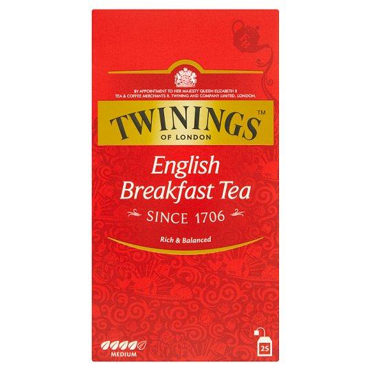 Twinings English Breakfast čierny čaj 25 x 2 g