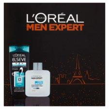 image 1 of L'Oréal Paris Men Expert After-Shave Splash & Strengthening Shampoo Gift Set