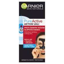 image 1 of Garnier Skin Naturals PureActive Mask Against Black Dots with Activated Carbon 50 ml