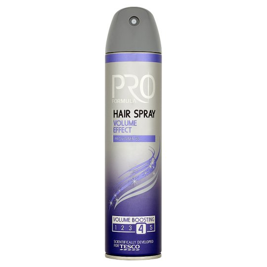 Tesco Pro Formula Volume Effect Hair Spray 250 ml