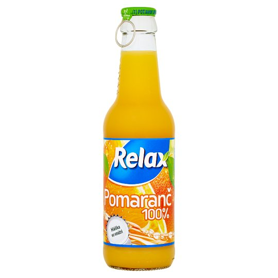 Relax 100% pomaranč 250 ml