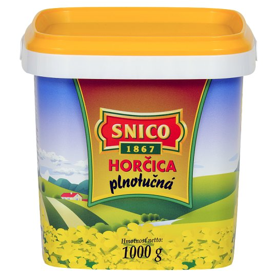 Snico Mustard Full Fat 1000 g