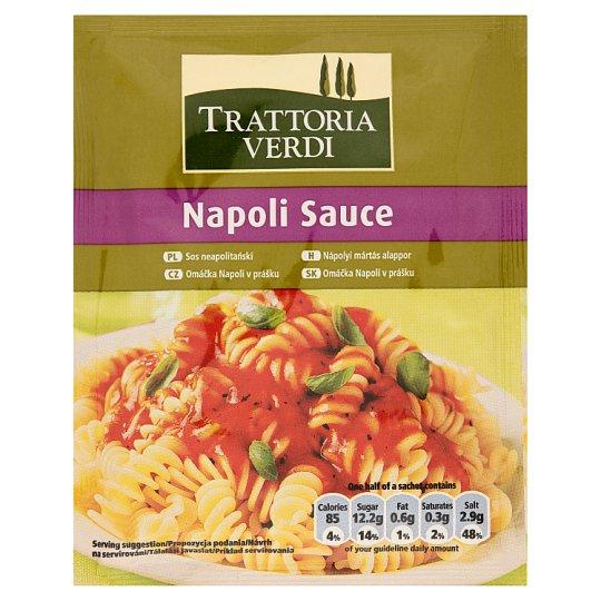 Trattoria Verdi Omáčka Napoli v prášku 50 g