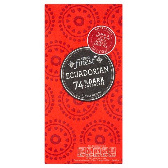 Tesco Finest Horká čokoláda 100 g