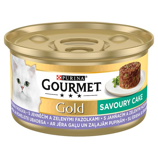 GOURMET Gold Savoury Cake with Lamb and Green Beans 85 g