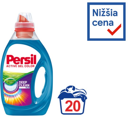 Persil 360° Complete Clean Color Gel Washing Detergent 20 Washes 1.00 L