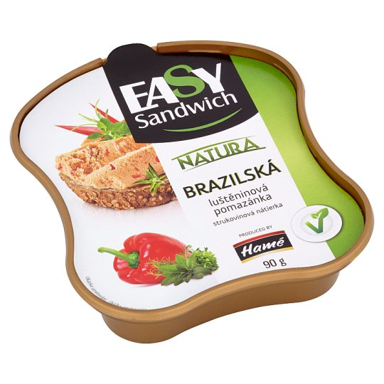 Hamé Easy Sandwich Natura Brazilian Leguminous Plants Spread 90 g