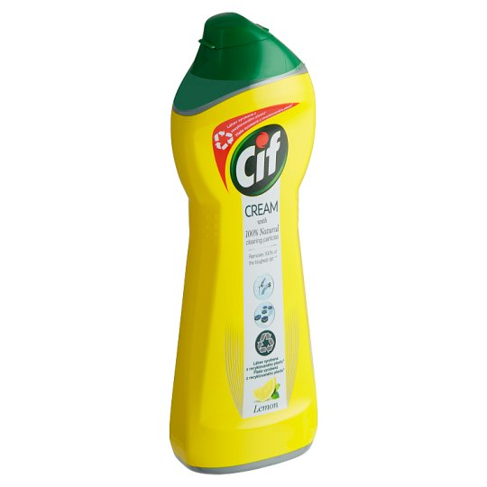 Cif Cream Lemon Creamy Abrasive Cleanser 250 ml