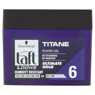taft power gel titan look 250 ml tesco groceries