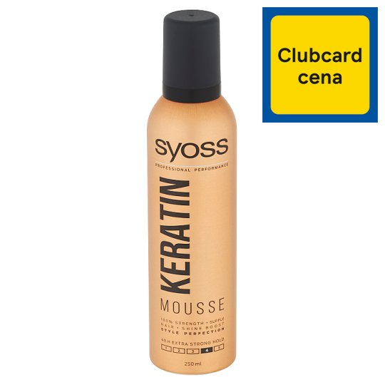 Syoss Style Perfection Mousse Keratin 250 ml