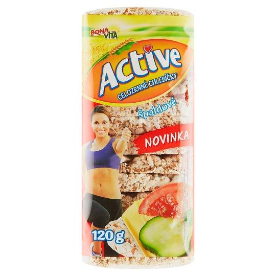 Bona Vita Active Celozrnné chlebíčky špaldové 120 g