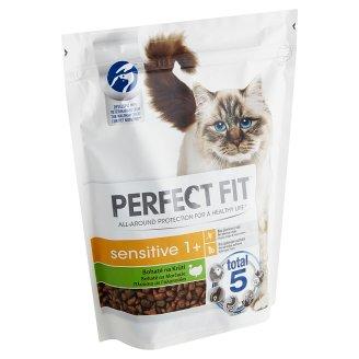 Perfect Fit Sensitive 1+ kompletné krmivo pre dospelé mačky morčacie 750 g