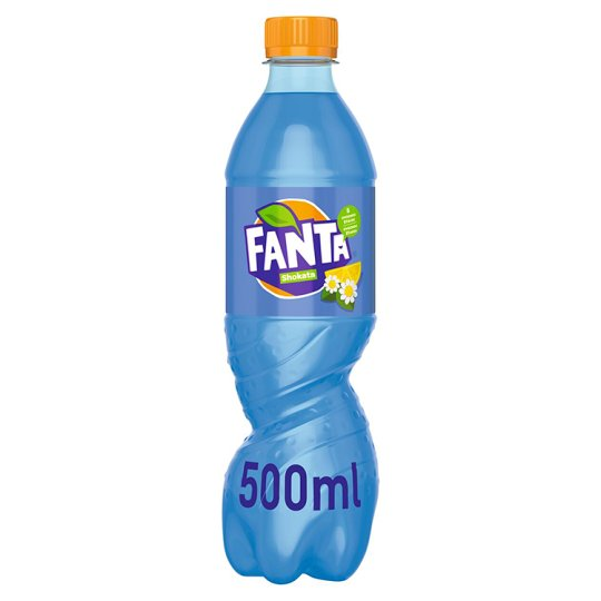 Fanta Shokata, Lemonade Flavoured with Lemon and Elder, 500 ml