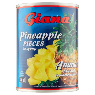 Giana Pineapple Pieces in Syrup 565 g