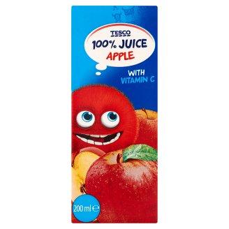 Tesco Jablková šťava z koncentrátu s vitamínom C 200 ml