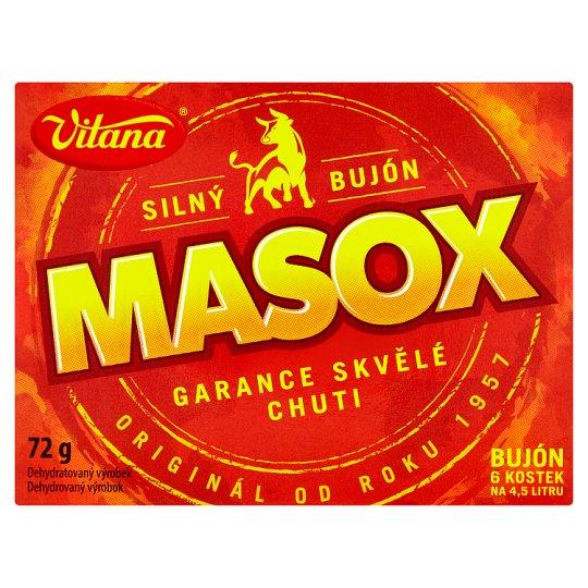 Vitana Masox Broth 6 pcs 72 g