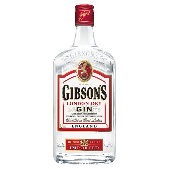 Gibson's London Dry Gin 37,5% 0,7 l
