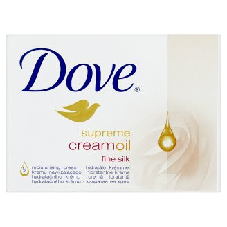 Dove Supreme Cream Oil Moisturising Cream Bar 100 g