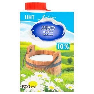 Tesco Trvanlivá smotana na varenie 10 % 500 ml