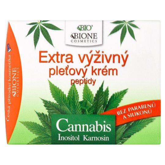 Bione Cosmetics Bio Cannabis extra výživný pleťový krém 51 ml
