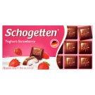 Schogetten Mliečna čokoláda s krémovou náplňou s príchuťou jogurtu a jahôd 100 g