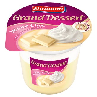 Ehrmann Grand Dessert Dezert s bielou čokoládou a šľahačkou 190 g
