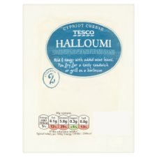 Tesco Halloumi Semi Hard Cheese Made from Cow's Goat's and Sheep's Milk 250 g