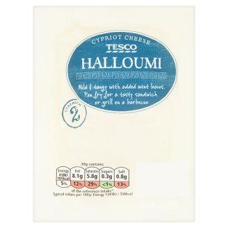 Tesco Halloumi polotvrdý syr vyrobený z kravského kozieho a ovčieho mlieka 250 g