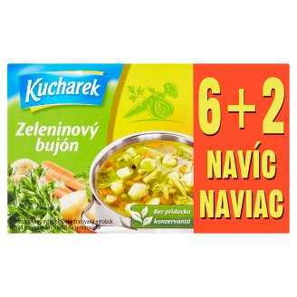 Kucharek Zeleninový bujón 8 ks 80 g