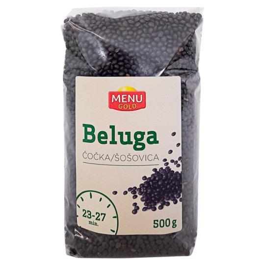 Menu Gold Beluga Black Lentils 500 g
