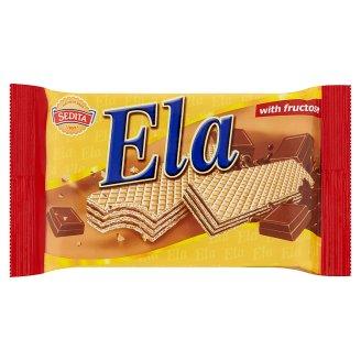 Sedita Ela Oblátky s krémovou kakaovou náplňou s čokoládovou arómou a fruktózou 40 g