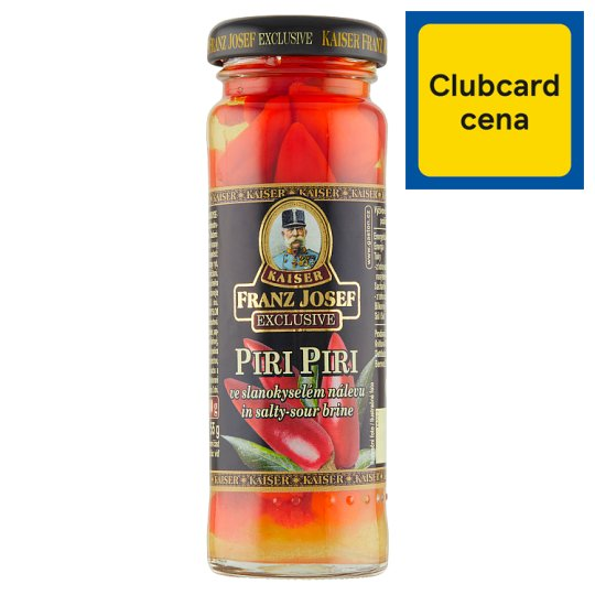 Kaiser Franz Josef Exclusive Piri Piri Pepper in Salty-Sour Brine 100 g