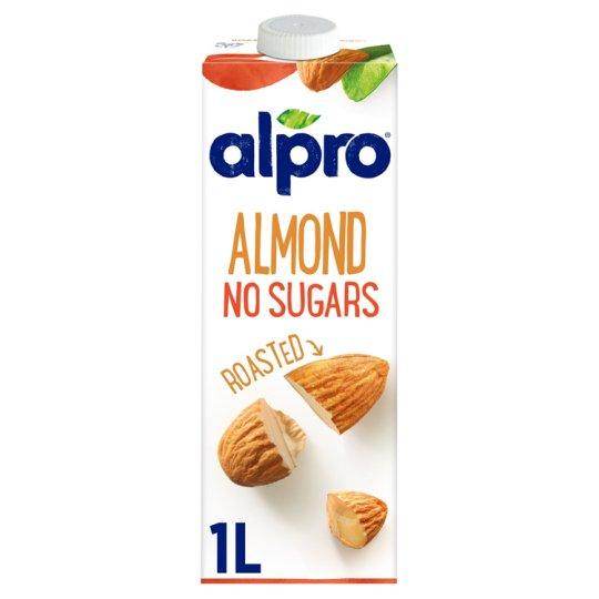 Alpro Almond Unsweetened Drink 1 L