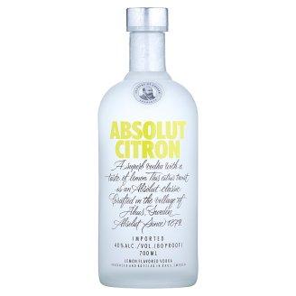 Absolut Citron Aromatizovaná Vodka s Citrónovou Príchuťou 700 ml