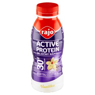 Rajo Active Protein Milk Drink Vanilla 330 ml