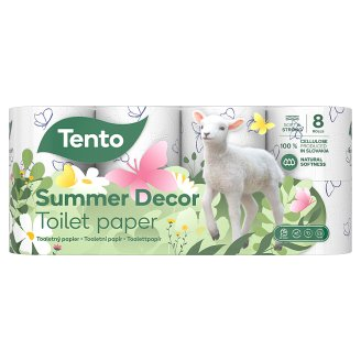 Tento Ellegance Winter Dream Toilet Paper 8 pcs