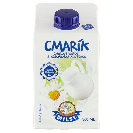 Milsy Cmar zakysaný s acidofilnou kultúrou 500 ml