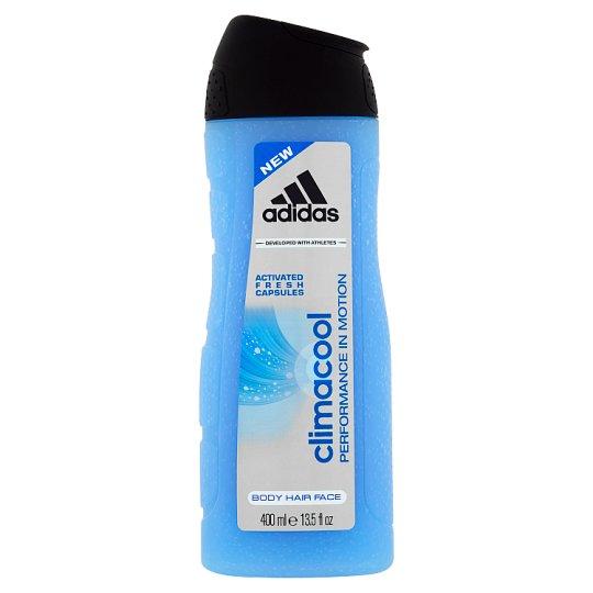 Adidas Climacool sprchový gél 3 v 1 na telo, tvár a vlasy 400 ml